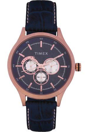 Timex Men Blue Analogue Watch TW000T310