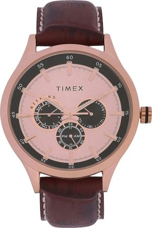 Timex Men Pink Analogue Watch TW000T311