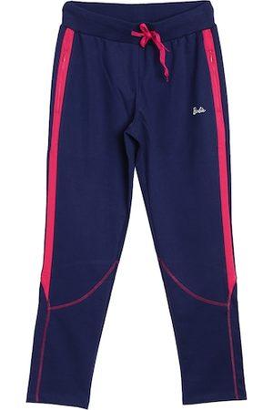 Barbie Women Navy Blue Solid Track Pants