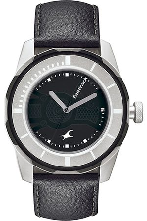 Fastrack Men Black Dial Watch NF3099SL02J