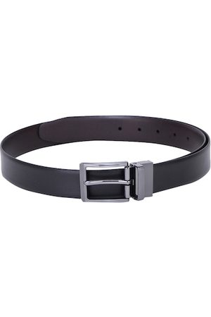 Alvaro Castagnino Men Black Solid Belt