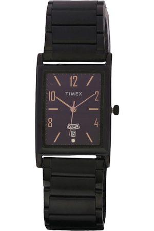 Timex Men Black Analogue Watch TW000L521
