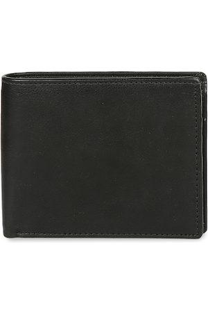 CRUSSET Men Black Solid Two Fold Leather Wallet