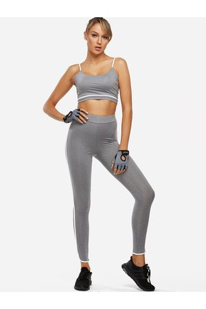 YOINS Active Sexy Quick Drying Elastic Strap Tracksuit in