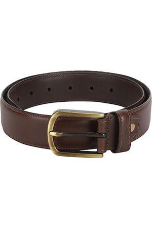 Aditi Wasan Men Brown Solid Leather Belt