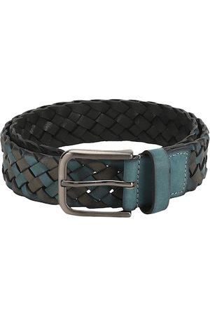 Aditi Wasan Men Blue Braided Belt