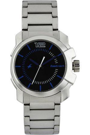 Fastrack Men Black Dial Watch 3097SM01