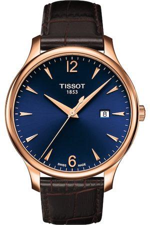 Tissot Men Navy Blue Tradition Swiss Made Analogue Watch T0636103604700