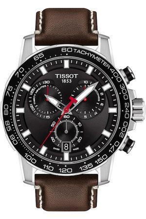 Tissot Men Black Supersport Swiss Chronograph Watch T1256171605101