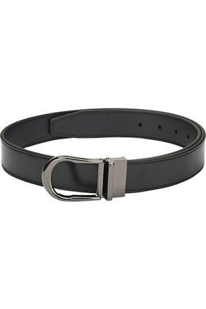 Pacific Men Black Solid Belt