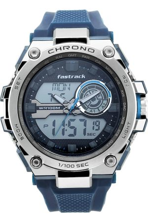 Fastrack Men Black Analogue and Digital Watch 38055PP01