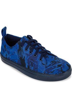 BRUNO MANETTI Women Navy Blue & Black Sneakers