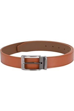 Calvadoss Men Tan Brown Solid Belt