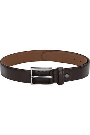 Calvadoss Men Brown Solid Belt