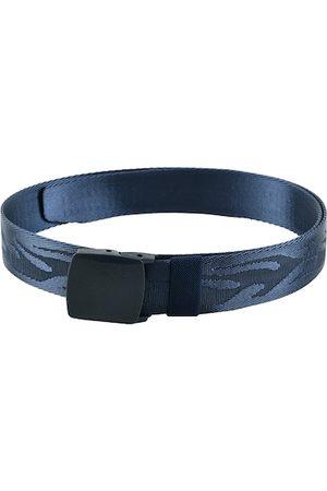 WINSOME DEAL Men Blue Solid Belt