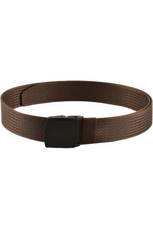WINSOME DEAL Men Brown Braided Belt