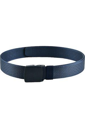 WINSOME DEAL Men Blue Textured Belt