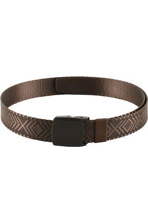 WINSOME DEAL Men Brown Textured Belt