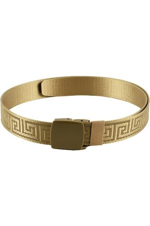 WINSOME DEAL Men Gold-Toned Braided Belt