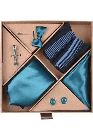 Blacksmith Men Teal Blue Accessory Gift Set