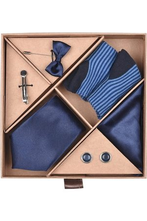 Blacksmith Men Blue Accessory Gift Set