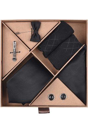 Blacksmith Men Black Accessory Gift Set