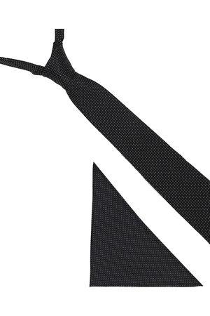 Blacksmith Men Black Patterned Accessory Gift Set
