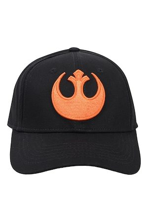 Free Authority Men Black Star Wars Embroidered Snapback Cap