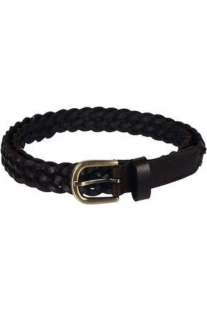 Aditi Wasan Women Brown Braided Leather Belt