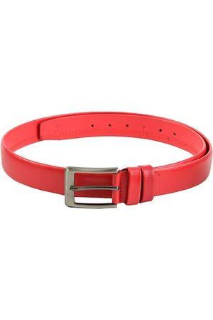 WINSOME DEAL Men Red Textured Belt