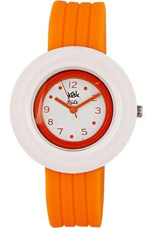 Kool Kidz Unisex Kids Orange Analogue Watch