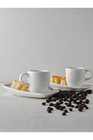 Ariane White 2 Pcs Cup & Saucer Set