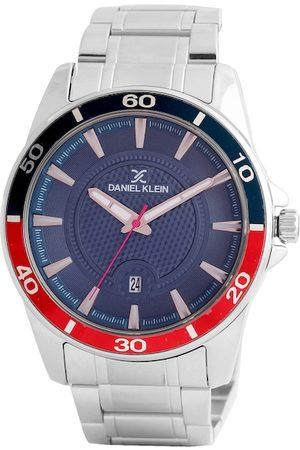 Daniel Klein Men Navy Blue Analogue Watch DK.1.12462-3
