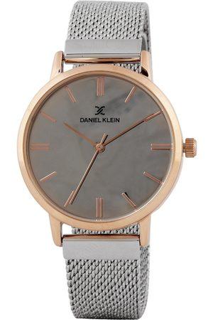 Daniel Klein Premium Women Silver-Toned Mirrored Analogue Watch DK.1.12405-3