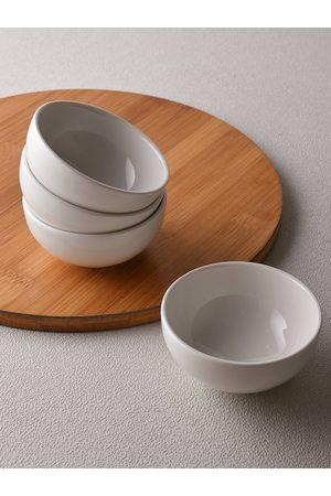 Ariane White 4 Pieces Fine Porcelain Classic Prime Bowls