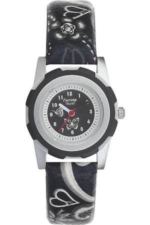 Fantasy World Unisex Kids Black Analogue Watch FW-007-BK02