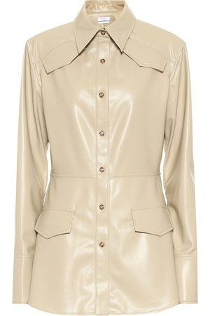 Deveaux New York Sierra faux leather blazer
