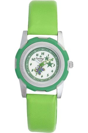 Fantasy World Unisex Kids Green Analogue Watch FW-007-GR01