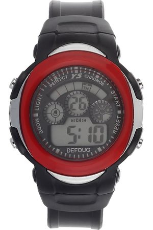 Fantasy World Unisex Kids Grey & Red Digital Watch FW-YS-11-RD01