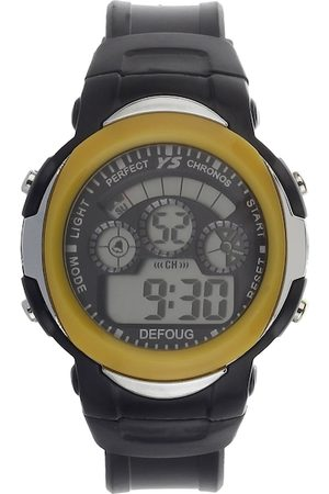 Fantasy World Unisex Kids Yellow & Black Digital Watch FW-YS-11-YL01