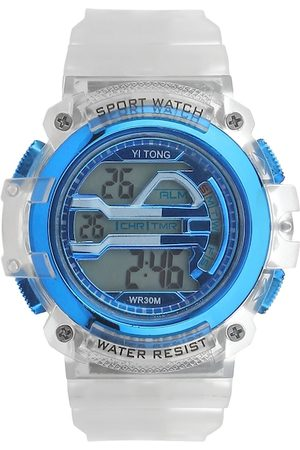 Fantasy World Unisex Kids Blue Digital Watch FW-Sport Digital-B-BL