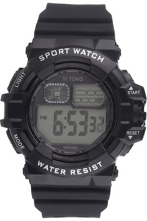 Fantasy World Unisex Kids Black Digital Watch