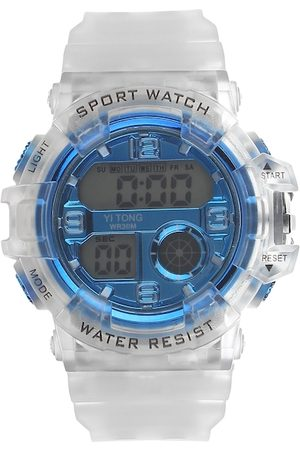 Fantasy World Unisex Kids Blue Digital Watch FW-Sport Digital-A-BL