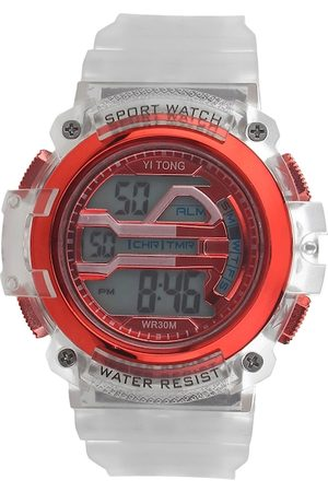 Fantasy World Unisex Kids Red Digital Watch FW-Sport Digital-B-RD