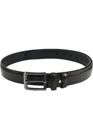 WINSOME DEAL Men Black Solid Belt