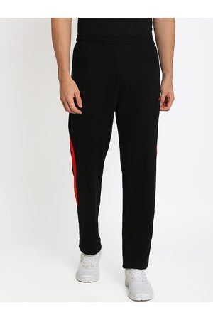 Crocodile Men Black Solid Slim-Fit Track Pants