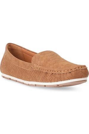 Bata Women Tan Brown Loafers