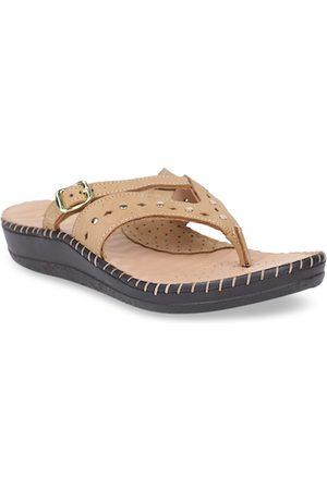 Scholl Women Brown Comfort Heeels