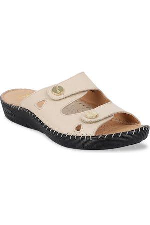 Scholl Women Beige Sandals