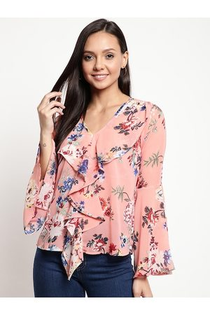 Mayra Women Pink Printed Top
